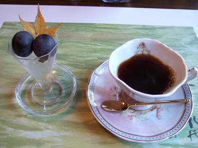 都わすれ 朝食 デザートとコーヒー