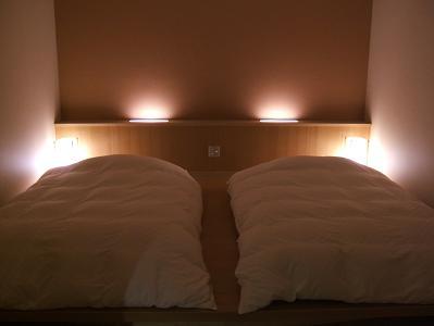 もずも 寝室(就寝前:和室等を消灯した時)