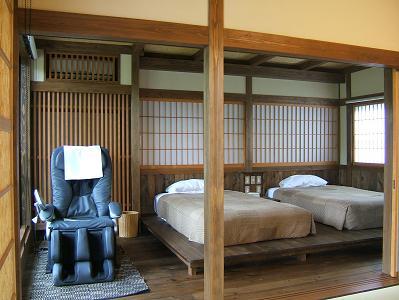 深山亭寝室1