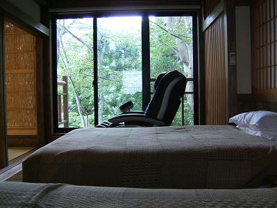 深山亭寝室2