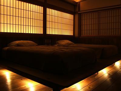 深山亭寝室3