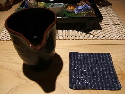 渓流荘しおり絵 お酒「私のお好みセレクト」の1つ