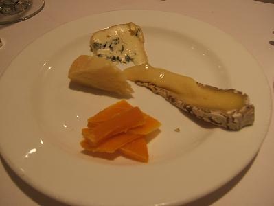 チーズの盛り合わせ(別注)