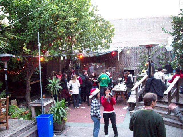 語学学校のクリスマスパーティ