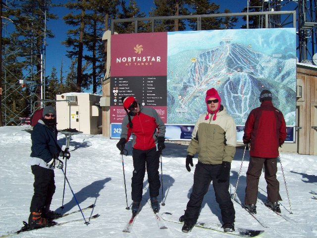 Northstar ski slope