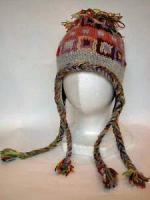 ウール耳つきニット帽