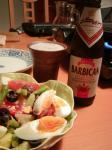 dinner060505ラズベリービール