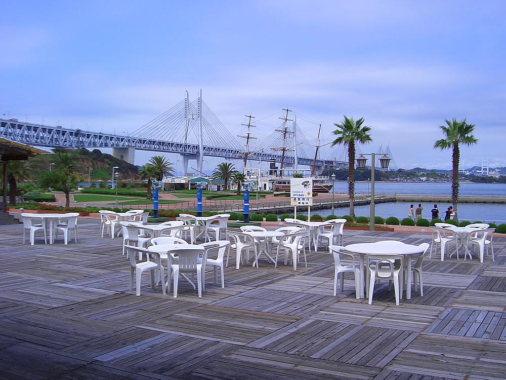 瀬戸大橋与島パーキングエリア