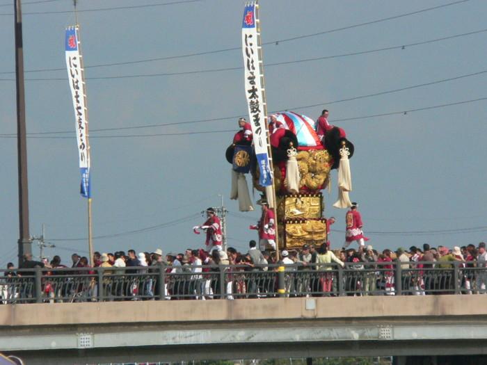 市制70周年記念かき比べの国領川de