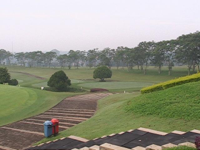 インドネシア・バンドンのギリガハナゴルフ場