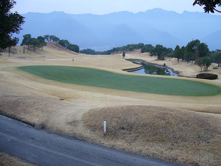 滝の宮カントリークラブ赤石コース6番グリーン
