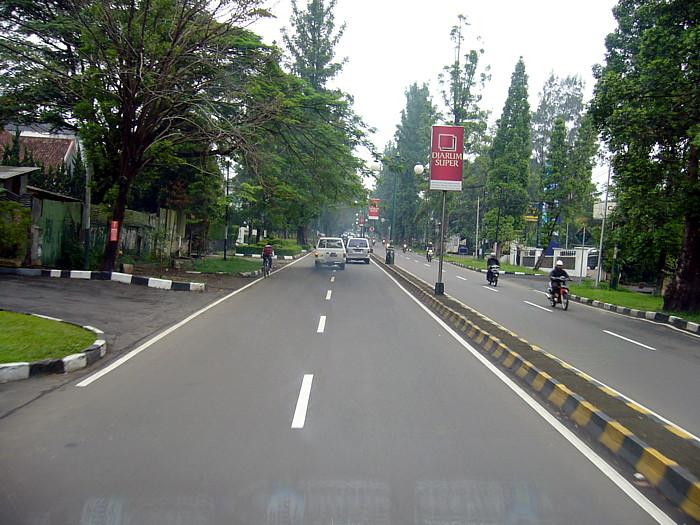 インドネシア・バンドン市内
