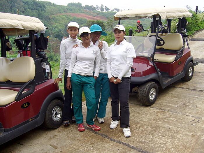 インドネシア・バンドンのゴルフツアー