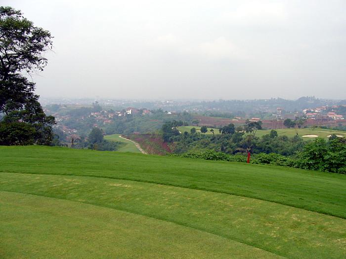 マウンテンビューゴルフ場周辺の景色