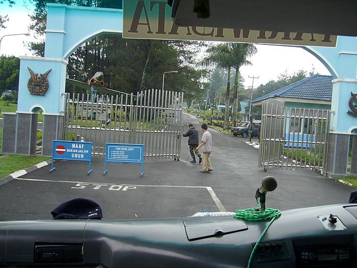 インドネシアバンドン.ポルタックゴルフ場