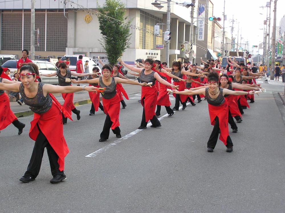 にいはまコンガ踊り