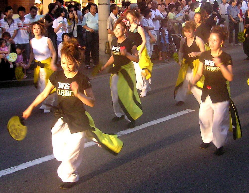 新居浜コンガ踊