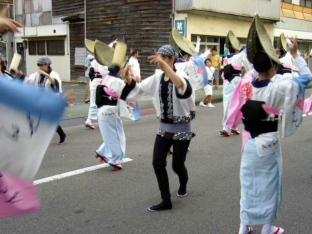 にいはま夏祭り阿波踊り連
