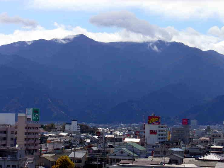 四国山脈赤石山系