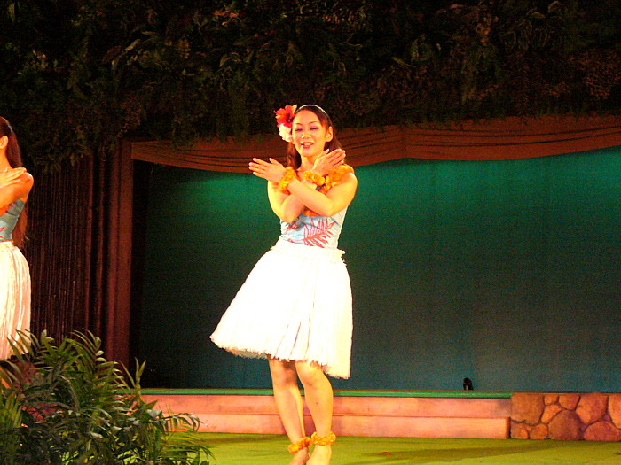 常磐ハワイアンセンターフラダンスショー