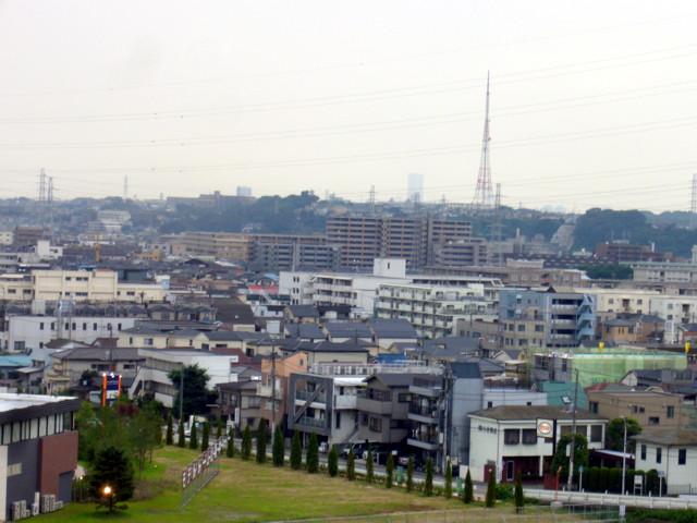 パイオニア川崎工場からの眺め