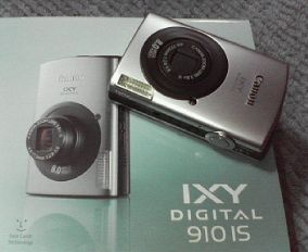 キャノンIXY DIGITAL 910IS。