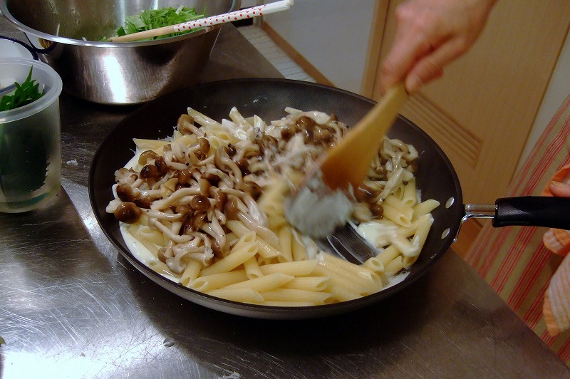 ■ イタリアン お料理教室 上野先生 【2008年9月】