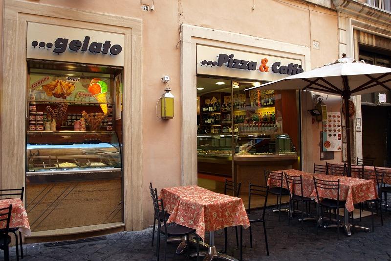 ■ スペイン広場のピザ屋さん イタリア・ローマ