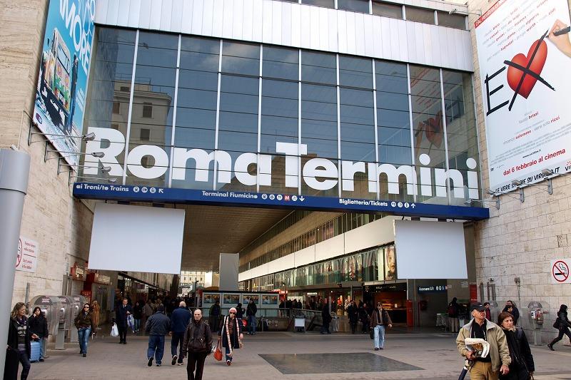 ■ ローマ テルミニ駅界隈
