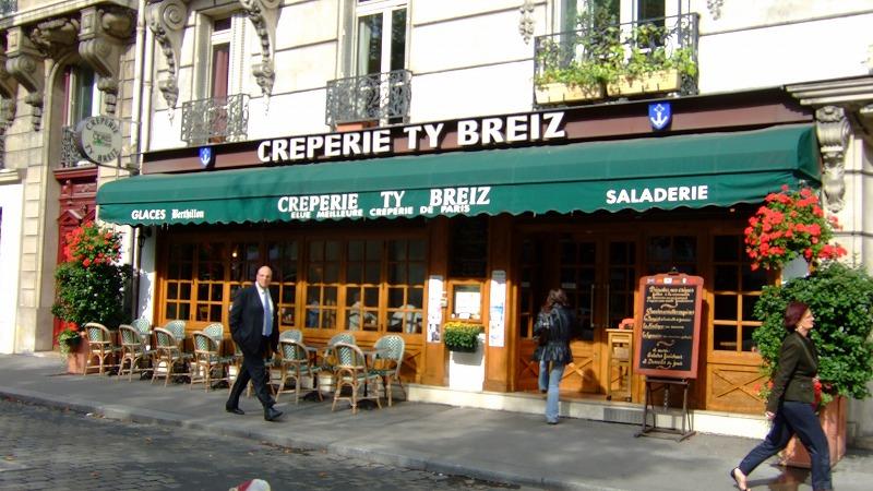 ■ Creperie Ty Breiz ガレット屋さん フランス・パリ