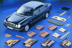 メルセデス・ベンツEメクラスに使われている天然素材製品