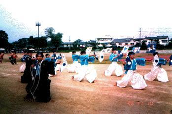 熊本大学工学部運動会応援演舞(1996)