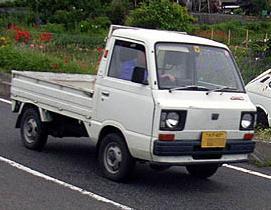スバル・サンバー4代目KT前期型