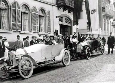1910年プリンツ・ハインリッヒレースで活躍したレースカーたち