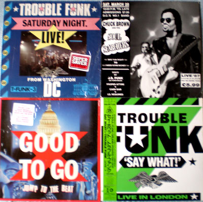 Trouble Funk Chuck Brown