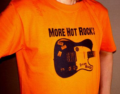 ロックTシャツ More Hot Rocks