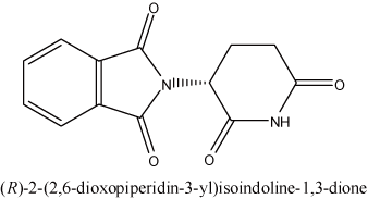 (R)-2-(2,6-dioxopiperidin-3-yl)isoindoline-1,3-dione
