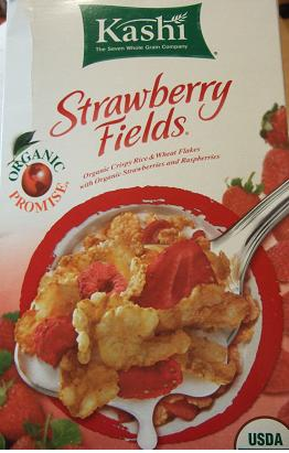 Kashi, Strawberry Fields Cereal1
