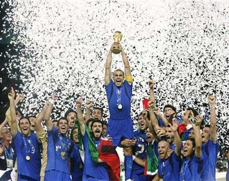 L'Italia e campione del mondo!!