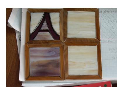 2008製作途中アルファベットランプ