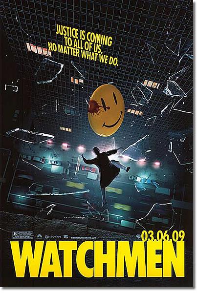 ON AIR#1174 ウォッチメン(2009 アメリカ 163分 4/09 新宿三丁目 新宿バルト9)