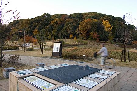 小牧山城史跡公園の風景