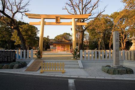 渋川神社外観