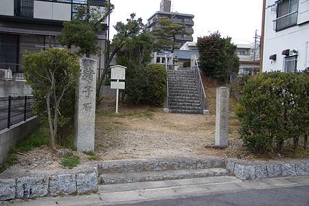 猪子石の神社-1