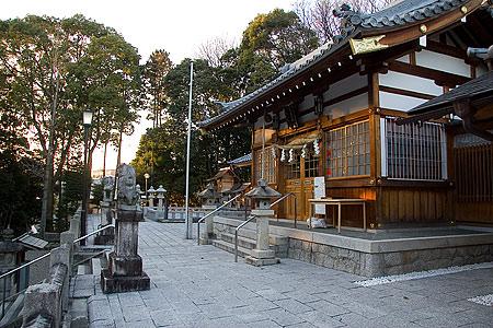 日吉神社社殿
