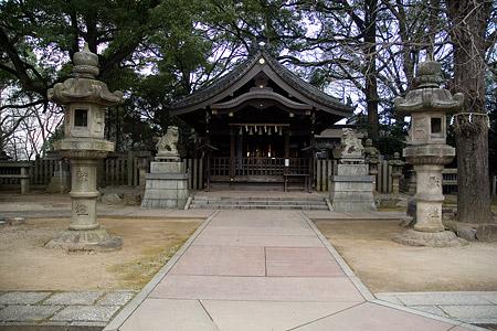 片山神社拝殿