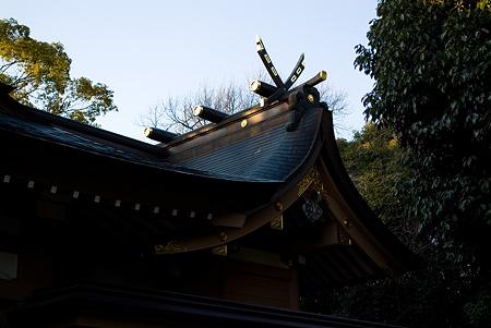 高牟神社本殿