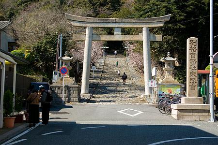 久能山東照宮入り口