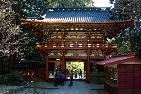 楼門の裏側