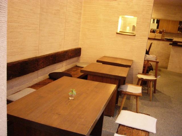 ぶなの木カフェルームテーブル席